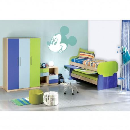 Σετ παιδικό δωμάτιο με κουκέτα Work Play Classic - Box-Home • Έπιπλο ... aa59120b9dd