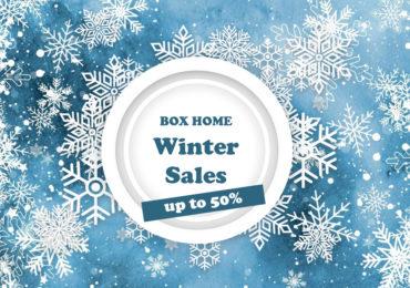 Το BOX HOME υποδέχεται τις χειμερινές εκπτώσεις έως και 50%!!!
